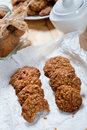 Diet and healthy muesli cookies photo of Royalty Free Stock Photo