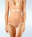 Diet oneself Royalty Free Stock Photo