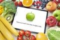 image photo : Fruit Vegetables Healthy Diet