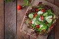 Dietary salad Royalty Free Stock Photo