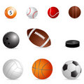 Different balls Royalty Free Stock Photography