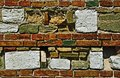 Different bricks wall Royalty Free Stock Images