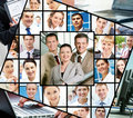 Different businesspeople Stock Photography