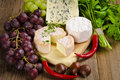 Different cheese kinds Stock Images