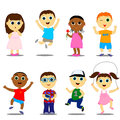 Different children Royalty Free Stock Photo