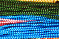 Different color beads background colors of which i seen on roadside Stock Photography