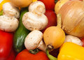 Different colorful fresh vegetables Royalty Free Stock Images