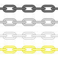 Different colors chains link.