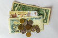 Different Coutries Money On Wh...