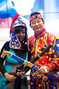 Different cultures at BIT 2012  Stock Photography