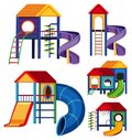 Different designs of playhouses