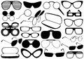 Different Eyeglasses Royalty Free Stock Photo