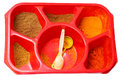 Different ground spices Royalty Free Stock Photo