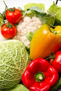 Different group of fresh vegetables Stock Image