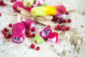 Different ice Lolly Royalty Free Stock Photo