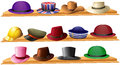 Different kind of hats