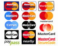 Different logotypes of payment system Mastercard