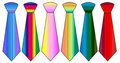 Different neckties Royalty Free Stock Photo