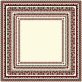 Different ornamental frames set of for your design Royalty Free Stock Image