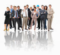 Different people and workers Royalty Free Stock Image