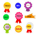 Different sales tags /icons Royalty Free Stock Photo
