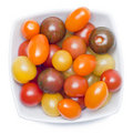 Different sorts of tomatoes. Royalty Free Stock Photo