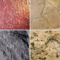 Different textures Stock Images