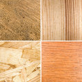 Different textures of wood Royalty Free Stock Image