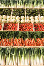 Different types of vegetables Royalty Free Stock Image