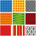 Different wallpaper image of types of convex pattern gift packaging Royalty Free Stock Image