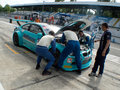 Difficult pit stop Royalty Free Stock Photo