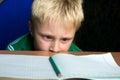 Difficult school homework Royalty Free Stock Photo