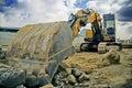 Digger Royalty Free Stock Photo