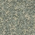 Digit camouflage seamless pattern for arid area in style Stock Photo