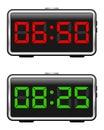 Digital Alarm Clock Set