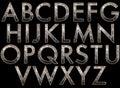 Digital Alphabet Diva Style Sc...