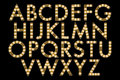 Digital Alphabet Marquee Style Scrapbooking Element Royalty Free Stock Photo