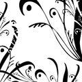 Digital artwork. Floral design. Royalty Free Stock Photo