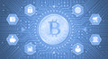Digital Bitcoin Royalty Free Stock Photo