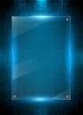 Digital blue background Royalty Free Stock Photo
