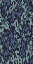 Digital Blue Camo Royalty Free Stock Photos