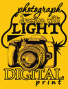 Digital camera illustration vector format Royalty Free Stock Photos