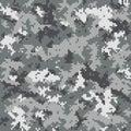 Digital camouflage pattern Royalty Free Stock Photo