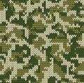 Digital camouflage pattern Royalty Free Stock Photo