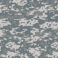 Digital camouflage seamless pattern background Stock Images