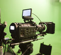 Digital Cinema Camera Stock Photography