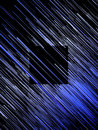 Digital diagonal blue lines abstract background. 3d rendering Royalty Free Stock Photo