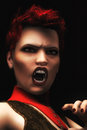 Digital Illustration of Female Vampire Royalty Free Stock Photo