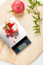 Digital Kitchen Scale Stock Photo