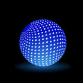 Digital light ball this is file of eps format Stock Photo